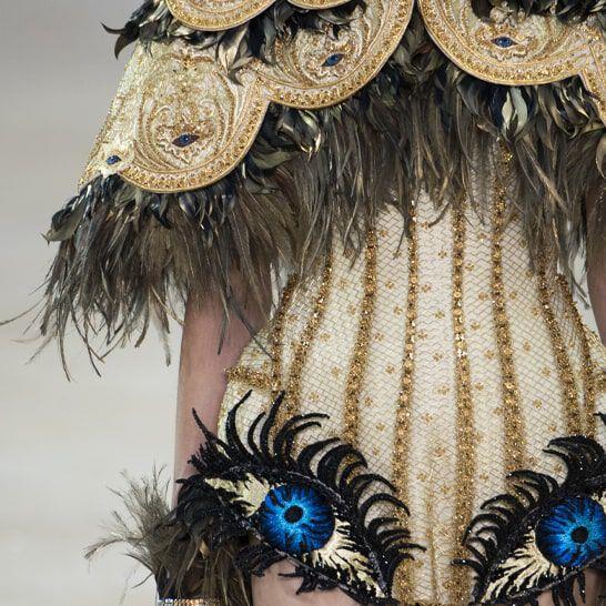 Laurastar bei der Haute Couture-Modenschau von Guo Pei bei der Pariser Fashion Week