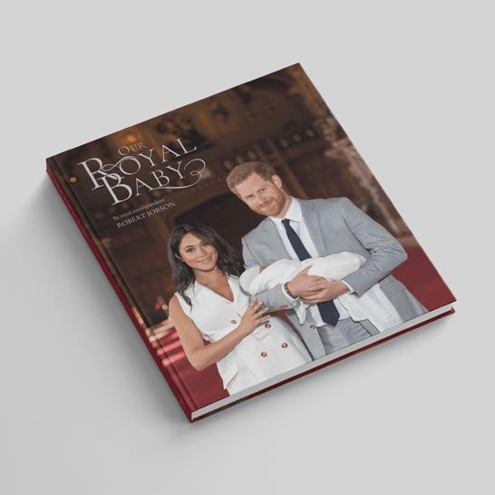 """Auf den Seiten des Buches """"Our Royal Baby"""""""