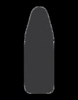 Bügelbezug X-Tremecover Schwarz - S