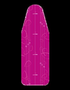 Bügelbezug Origamicover Fuchsie