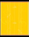 Bügelbezug Origamicover Gelb